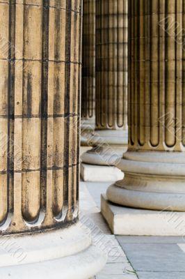 Paris Pantheon columns