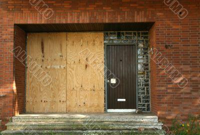 Door in a Ghost Town
