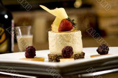Dessert of a souffle