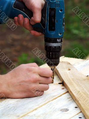 left-handed carpentry