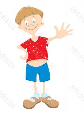 Little_boy_in_red_t-shirt