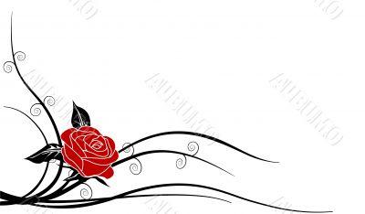 Silhouette Rose 1b