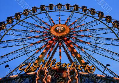 Oktoberfest ferriswheel