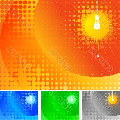 Lamp artwork