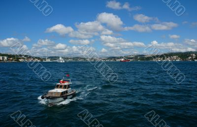 Boat trip on bosphorus of İstanbul