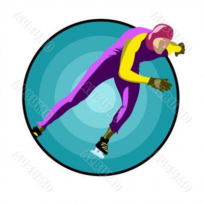 Speed-skater