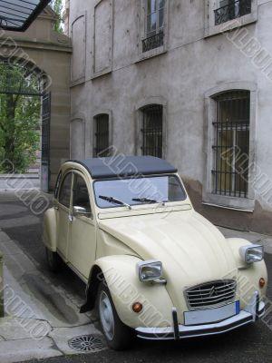Famous french car Citroen 2CV