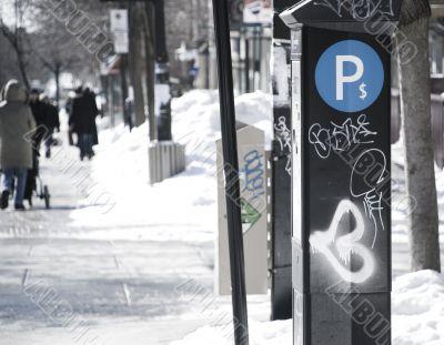 Parking Graffiti