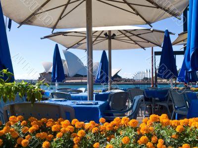 Cafe At Sydney Opera House Place