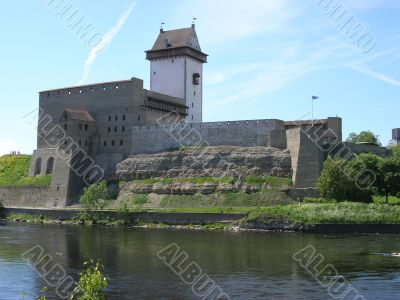 The estonian fortress Narva