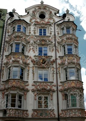 rococo building in Innsbruck
