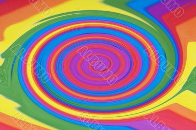 Rainbow Swirl