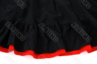Spanish flamenco skirt