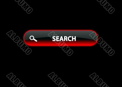 ren neon button search