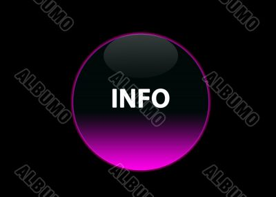 pink neon buttom info