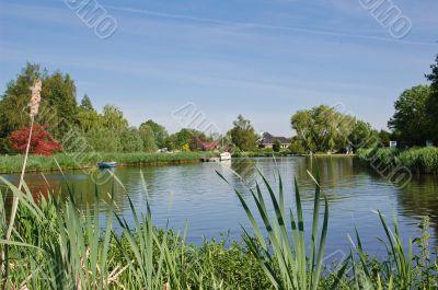River de kromme Mijdrecht Holland