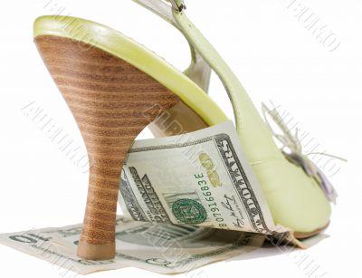 Inflation under heel