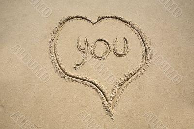 "The inscription ""You"""