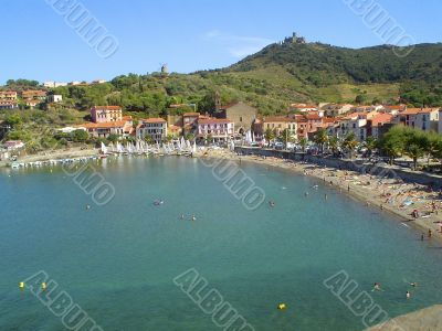 Bay of Collioure-french Pyrenees- Vermeille coast