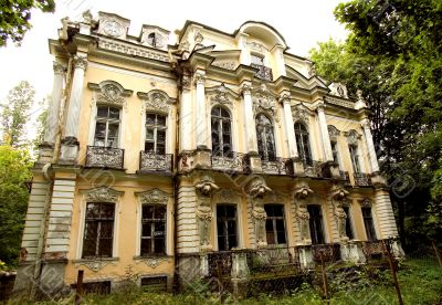 Own summer residence of Russian tsar Nikolay