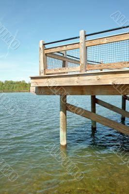 Fishing Dock Vertical