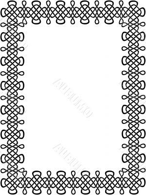black celtic border 8