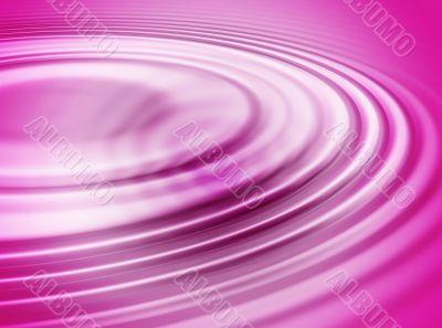 Pink water ripple