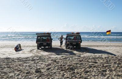 surf life saving trucks