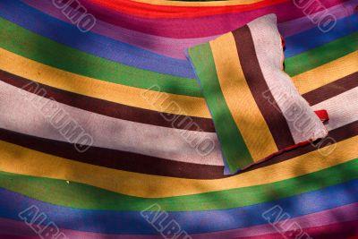 Striped hammock