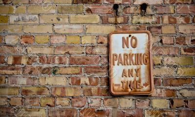 No Parking, Any Time