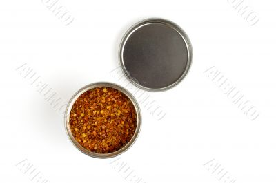 can of mexican hot spices