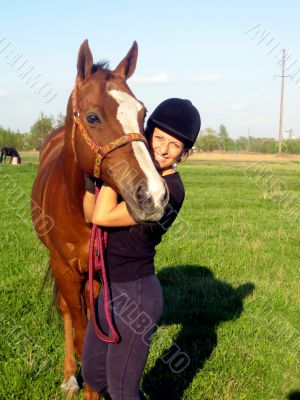 Friendship with horse