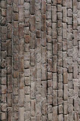 Bricks. Vertical
