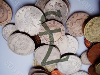 Coins With Pound Sign