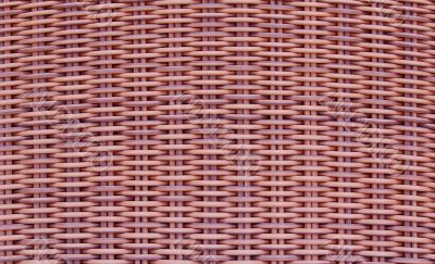 Tan cane woven background texture