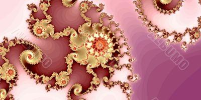 Pattern from fraсtal