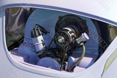 VW Beetle custom motor