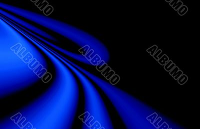 Abstraction XXL blue & black background