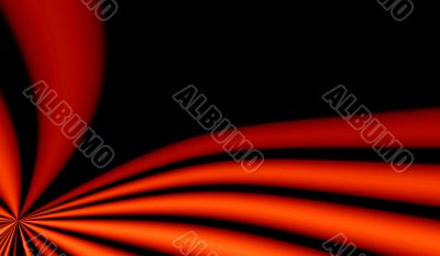 Abstraction XXXL red & black background