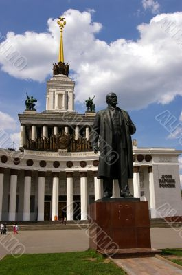Sculpture of LENIN