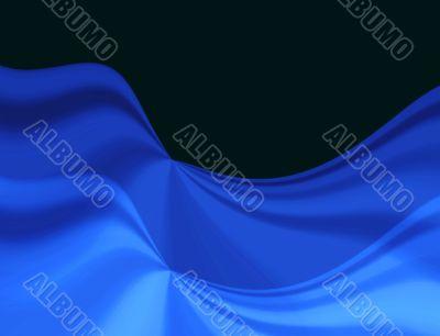 Celebratory blue drapery background