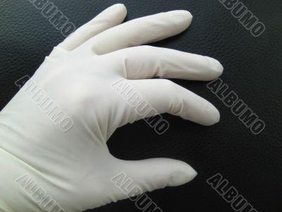 latex safety glove