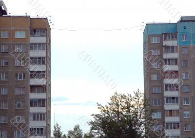 Two residential bulidings