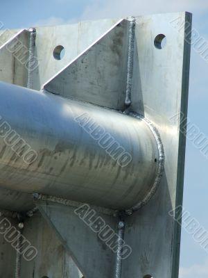 Base Plate Steel Utility Pole