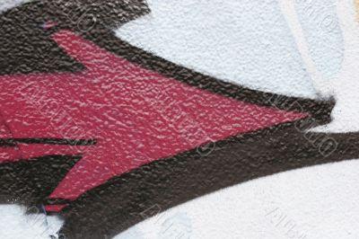 arrow graffiti