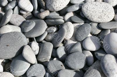 beach of rocks