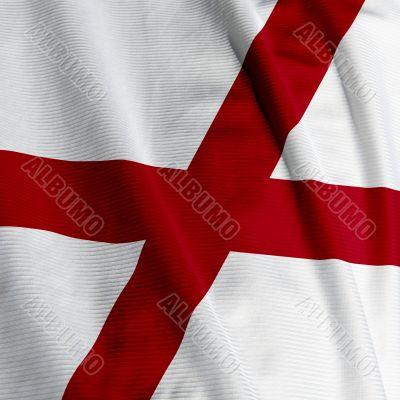 Alabama Flag Closeup