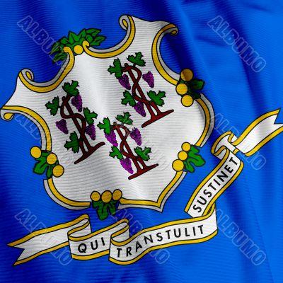 Connecticut Flag Closeup