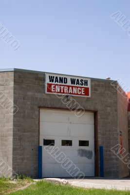 Car Wash Entrance