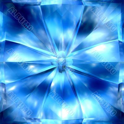 icy crystals